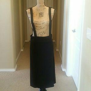 Black  Skirt with  Stripes